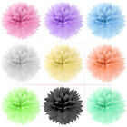 "30 Tissue Paper Pom Poms Flower Ball Wedding Party Holiday Decoration 8""/10""/15"""