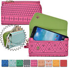 Convertible Aztec Smart-Phone Wallet Case Cover & Evening Clutch MLUC17