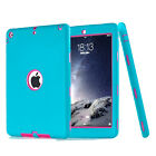 Defender Rubber Hybrid Shockproof Armor Case Cover For iPad Air iPad 5 6 Retina