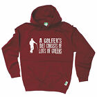 A Golfer's Diet Consists Of Lots Of Greens HOODIE - golf present funny hoody