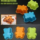 DIY Silicone 7.6 cm x 5.4cm Bear  Muffin Baking Baking Mould Cupcake Case 2718