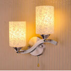 NEW  White Glass Indoor Wall Lights Lamp Sconce Aisle/Porch Lights Decor 9325HC
