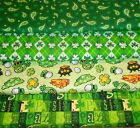 ST. PATRICKS #2  FABRICS Sold INDIVIDUALLY NOT AS A GROUP By the HALF YARD