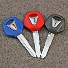 3Color Left Blade Blank Blade Motorcycle Uncut Key For Yamaha YZF R6 New