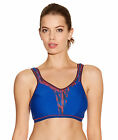 Freya Active Soft Cup Multiway J Hook Crop Top Sports Bra 4000 In Olympic Blue