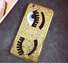 Luxury 3D Big Wink Eyes Glitter Bling Case Cover For iPhone 5S E 6 6 plus