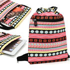 9.7 inch Tablet Protective Drawstring Tribal Print Backpack Case Cover BGPS11