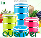 1 Layers Stainless Steel Portable Lightweight Food Container Lunch Box Microwave