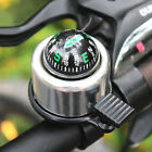 Colorful Bicycle Safety Bicycle Bike Ring Alarm Bell Compass USA Aluminum Alloy