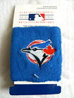 2 TORONTO BLUE JAYS OFFICIAL WRISTBANDS Baseball Sweatbands Blue Canada