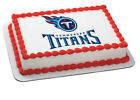 Tennessee Titans NFL football image cake topper frosting sheet #4616 $11.7 USD on eBay