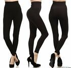 Внешний вид - Tummy Control High Waist Warm Winter Fleece Full Length Legging Stretch Pants