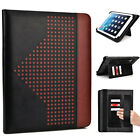 10 inch Patent Leather Protective Tablet Folding Case Cover & Stand MUEP-4