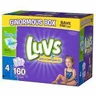 Luvs Ultra Leakguard Disposable Baby Diapers Choose From Size 1, 2, 3, 4, 5 or 6 <br/> ******  LIMITED OFFER  ****************  NO TAX  ******
