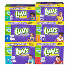 Luvs Ultra Leakguard Disposable Baby Diapers Size 1, 2, 3, 4, 5, and 6