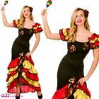 New Rumba Dancer Ladies Costume Latino Strictly Ballroom Carnival UK Sizes 6-24