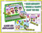 super why party ideas - Super Why edible Cake toppers picture decal Birthday image paper sugar cupcakes