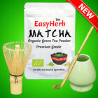 EasyHerb™  Matcha Green Tea Powder, Organic, Premium, BRC Food Safety Certified.