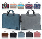 """11"""" 13"""" 15""""Notebook Laptop Carrying Case Bag PC Handle Sleeve Pouch Fr Lenovo HP"""