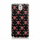 SKULL & CROSSBONES 2 HARD MOBILE PHONE CASE COVER FOR SAMSUNG GALAXY NOTE 3