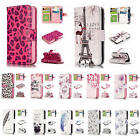 For Apple iPhone 5C Embossment Effect 9 ID Card Slots Leather Wallet Case Cover