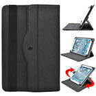 Universal 7 - 8 inch Tablet Slim Sleeve Folio Case Cover & Rotating Stand 08AR4