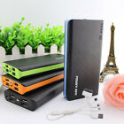 Portable 4USB 50000mAh Power Bank LED External Battery Charger For SamSung Phone