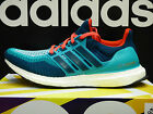 NEW ADIDAS Ultra Boost Men's Running Shoes - Teal/Blue;  AQ4005