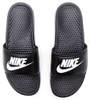 Nike Benassi Just Do It Slide Flip Flop Sandals in Black 343880 090