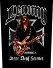 Lemmy Backpatch - Stone Deaf - NEW & OFFICIAL