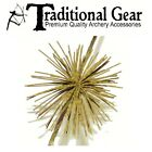 4 PC PACK Archery ZEBRA STRIPE Bowstring BOW STRING SILENCERS * FREE SHIPPING *