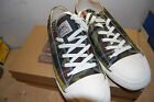 NIB Mens Polo Ralph Lauren Raimy  Olive Camouflage canvas sneaker quality