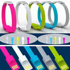 Bracelet Wrist Band USB Charging Charger Data Sync Cable Cord for iPhone 6 U.S.A