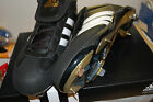 Adidas Mens Pure Hustle Baseball Cleat Cleats Leather NIB Best quality $100