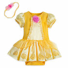 Disney Store Beauty & the Beast Princess Belle Baby Costume 6 9 12 18 24 Months