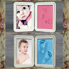 Toddler Baby Hand Foot Prints Photo Frames Touch Clay Picture Keepsake Kit Gift