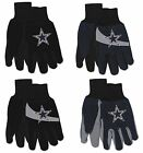 NWT NFL Dallas Cowboys No Slip Gripper Palm Utility Work Gardening Gloves NEW! on eBay
