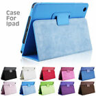 "For Apple iPad 1234/mini 1234 / Air 12 / Pro 9.7"" Flip LEATHER STAND CASE COVER"