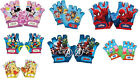 Disney Kids Bike Cycle Gloves Half Finger Minnie Peppa Paw Patrol Winnie  4-6Y