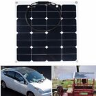 50W 20W 12V Car Camping Cell Solar Panel Module Battery Charger Bank Flexible