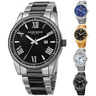 Men's Akribos XXIV AK936 Sunray Dial Date Stainless Steel Bracelet Watch image