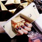 Smooth Ultra-thin Soft Silicone Mirror Case Cover For Huawei Ascend P8 P9 Lite