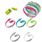 Mini Bracelet USB 2.0 Sync Data Charger Cable Cord for iPhone Galaxy US Location