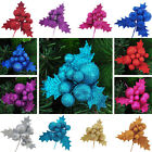 Christmas Tree Xmas Pine Cones Decorations Baubles Party Wedding Ornament Supply