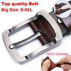 "Luxury Top quality Fashion Men's Belt 100% Genuine Leather belt Waist 30""-57"""