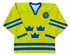 Team Sweden Hockey Jersey yellow
