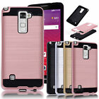 For LG Stylo 2 Plus /Stylus 2 Plus Case Shockproof Tough Hybrid Protective Cover