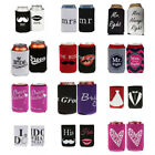 Wedding Stubby Holder Coolers Stubbie Cooler Bottle Holder Beer Can Neoprene