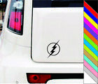 THE FLASH lightning bolt logo Sticker Window Car Decal for Car Door Bumper