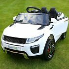Range Rover Evoque Style 12v Child's Electric Ride On Car Jeep - 6 Colour New